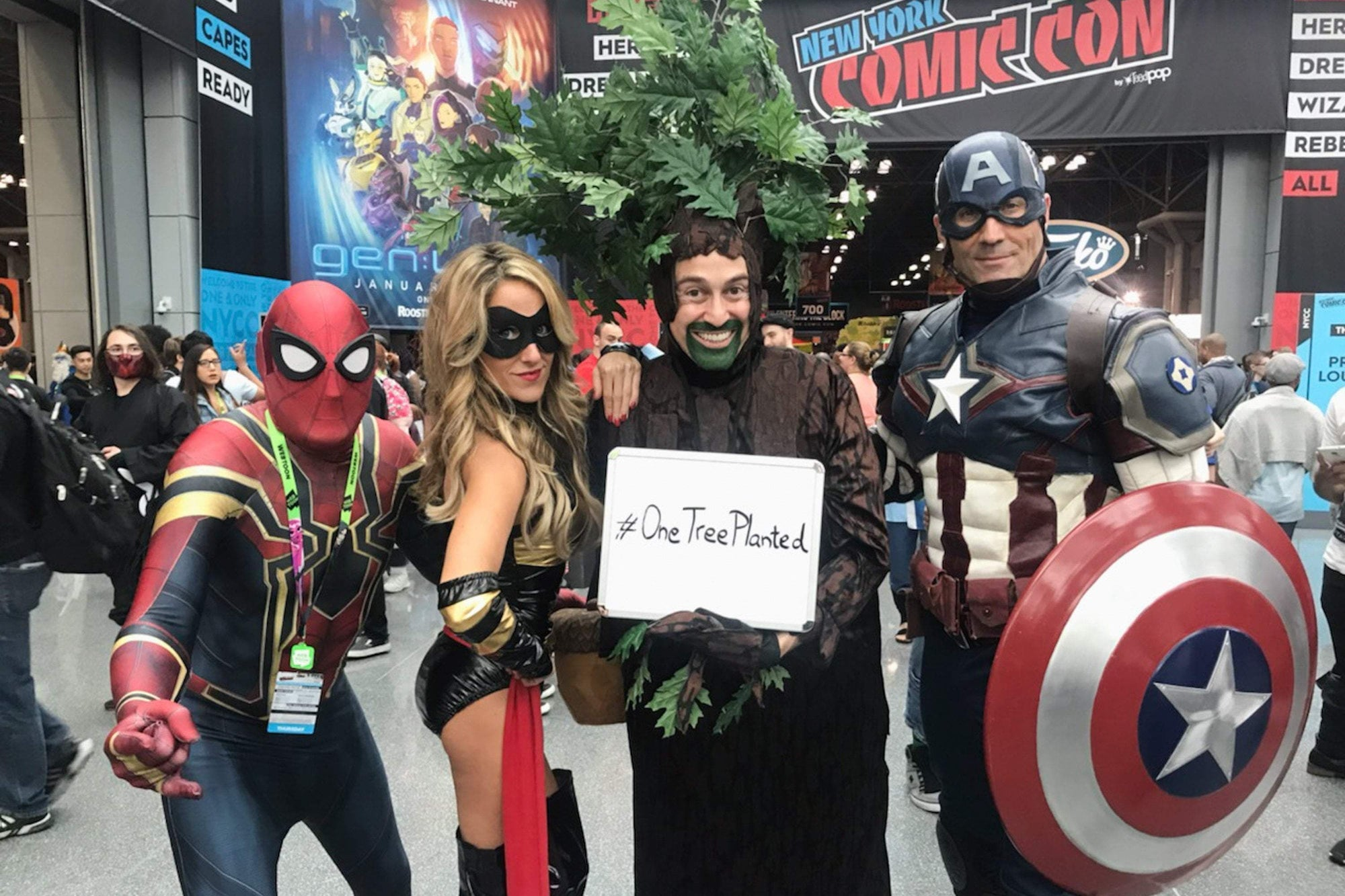 The Tree Goes to Comic Con