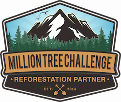 Million Tree Challenge badge One Tree Planted