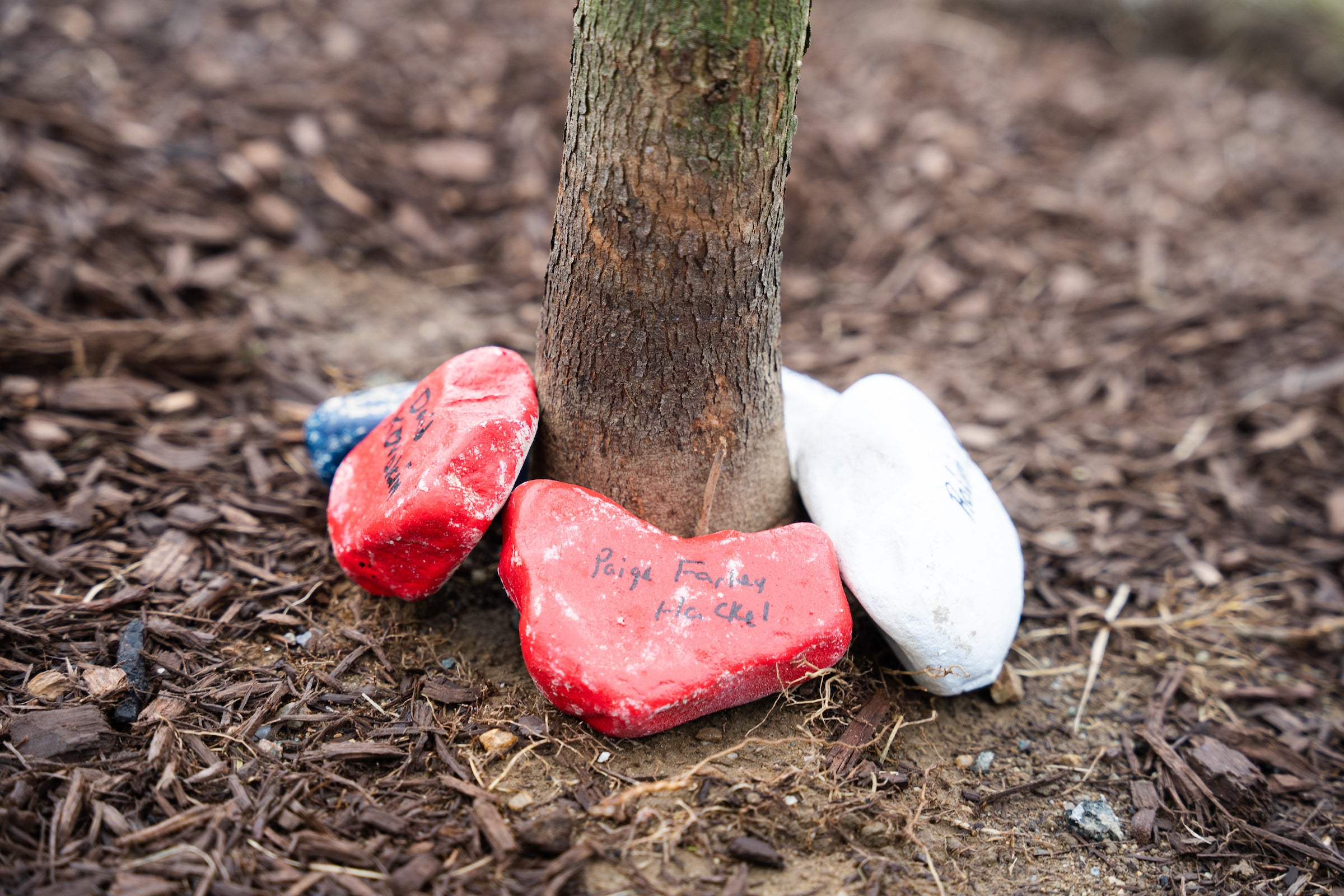 memory rocks for 9/11 victims