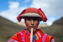 andes man ceremony flute