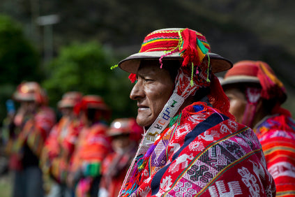 ceremony man andes