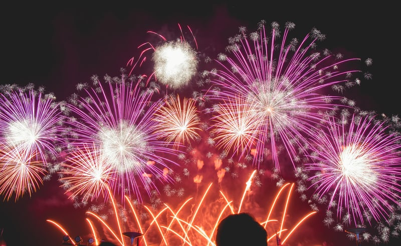 Fireworks and forest fire prevention