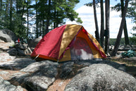 campsite sustainable camping