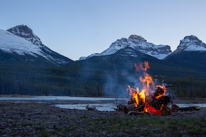 Responsible camping prevents forest fires