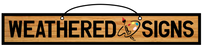 Weathered Signs logo