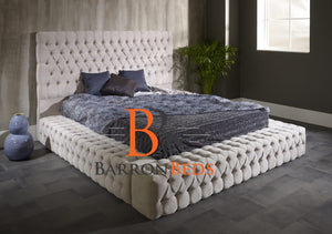Fredrica Ambassador Chesterfield Bed Frame Part of the Barronbeds Luxury Range