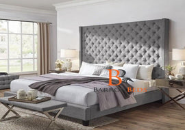 "Harold Bespoke Bed Frame with 70"" Headboard Only at Barronbeds"