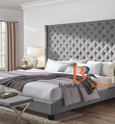 Harold Bespoke Bed Frame with 70