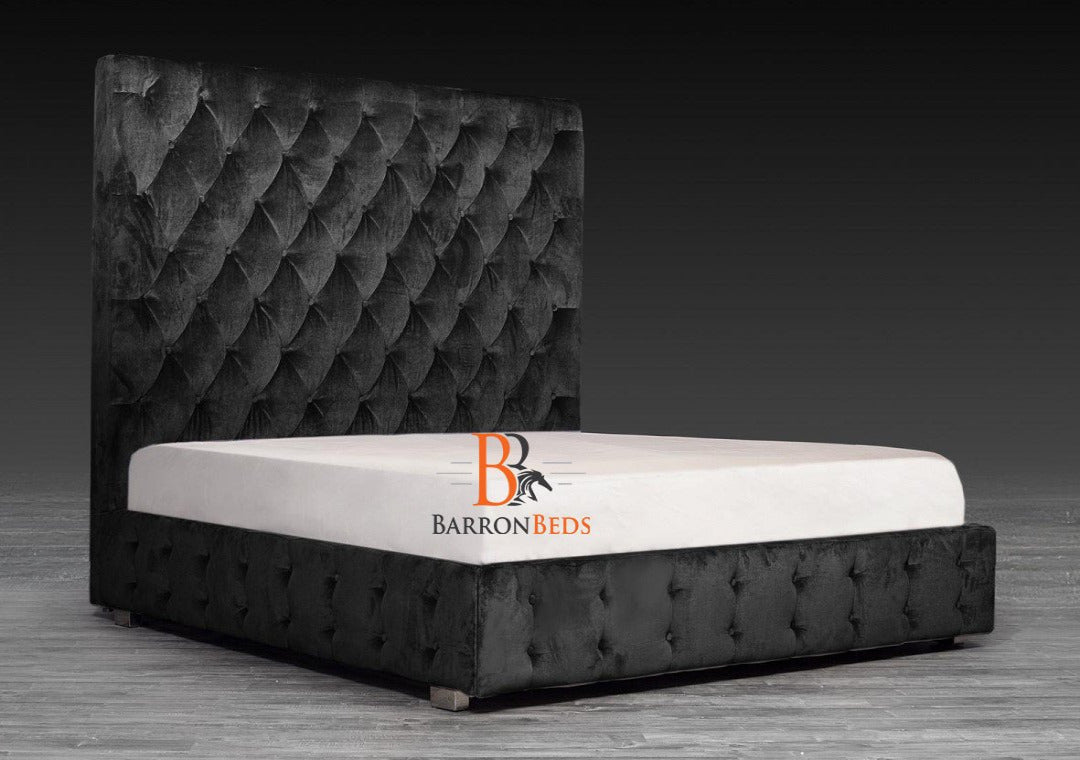 Midnight Royal Ambassador Bed Frame Only at Barronbeds