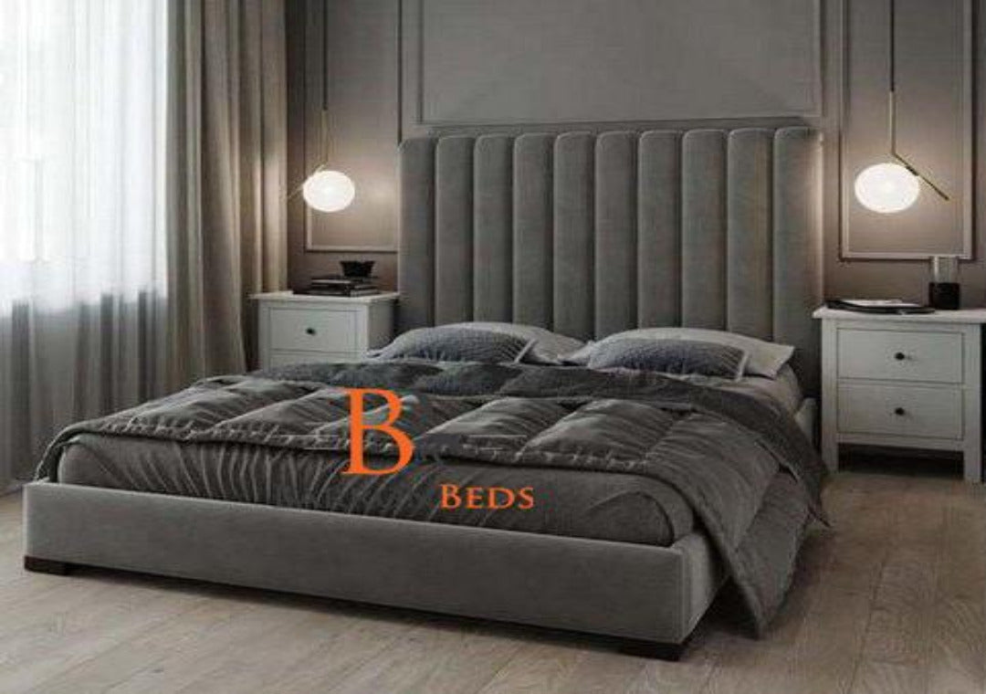 Devon Chesterfield Sleigh Bed Frame Part of the Barronbeds Bespoke Range