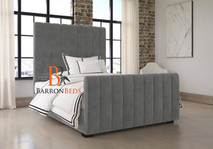 Florida Panel Upholstered Sleigh Bed Frame