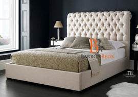 August Low Foot Sleigh Bed Frame Only at Barronbeds