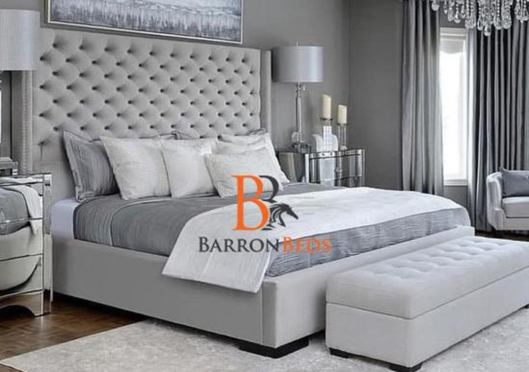 Maya Wingback Bed Frame Part of the Barronbeds Bespoke Range