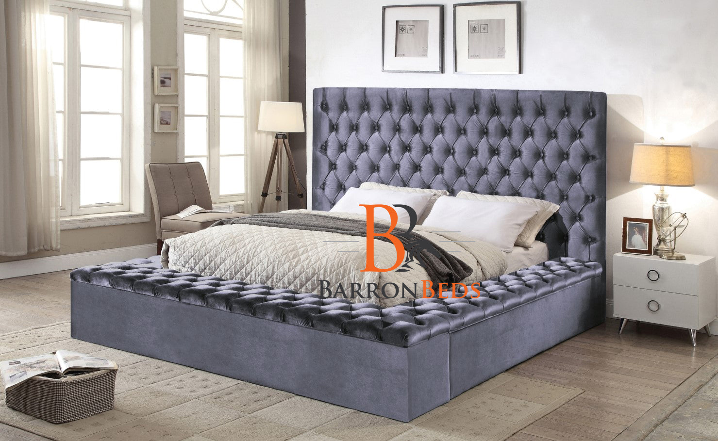 Isabelle Ambassador Storage Bed Frame A Barronbeds Exclusive