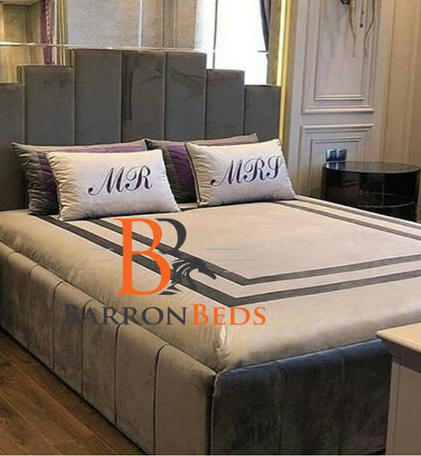 Romeo Art Deco Bed Frame Part of the Barronbeds Bespoke Range