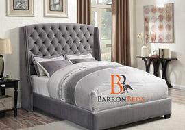 Valentine Wingback Bed Frame Part of the Barronbeds Bespoke Range