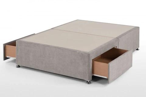 Nyla Wingback Bed Frame Only at Barronbeds