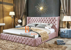 Madeline Wingback Bed Frame Part of the Barronbeds Bespoke Range