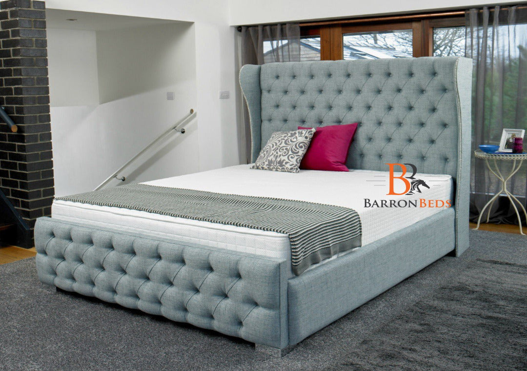 Rosemary Wingback Bed frame Part of the Barronbeds Luxury Range