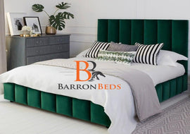 Sarina Chesterfield Sleigh Bed Frame Part of the Barronbeds Bespoke Range