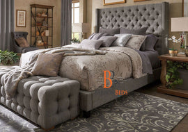Alexia Wingback Bed Frame A Barronbeds Luxury Item