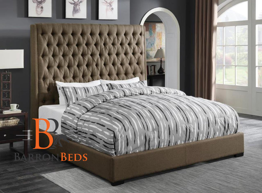 Claire Wingback Bed Frame A Barronbeds Luxury Item