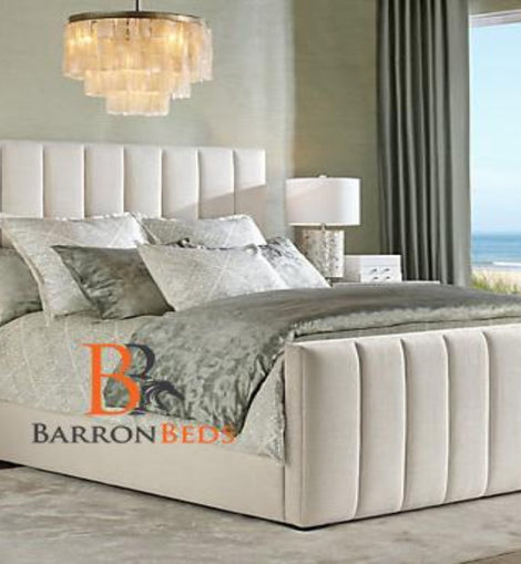 Sofia Upholstered Bed Frame With High Footboard