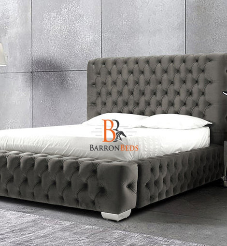Seraphina Ambassador Chesterfield Fully Upholstered Bed Frame