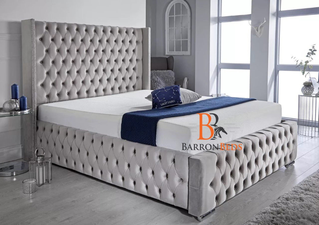 Orpington Upholstered Bed Frame Part of the Barronbeds Bespoke Range