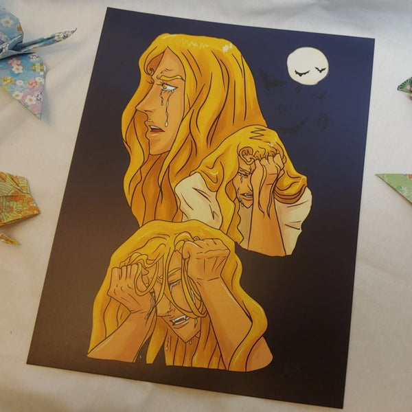 PRINT - Our Crying Alucard