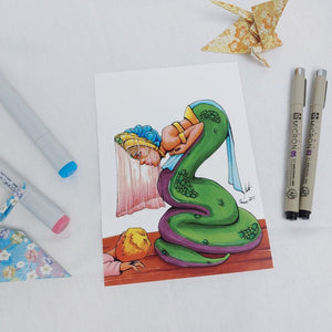 PRINT - The Snake Bride and Her Groom-to-be