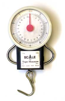 Eagle Claw Tool Dial Scale w-Tape Measure