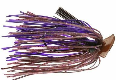 Buckeye Football  Jig 1-2oz Cinnamon Purple