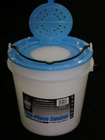 Challenge 2pc 10qt Plastic Bucket