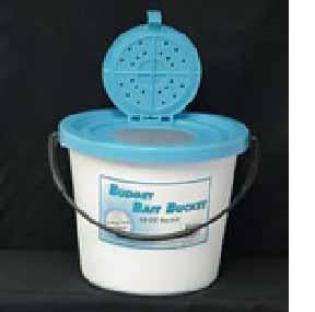 Challenge 10qt 1pc Plastic Minnow Bucket