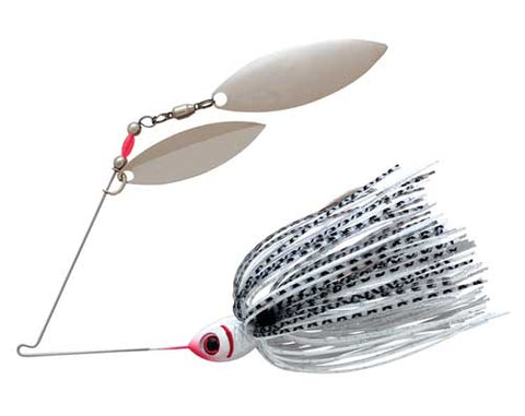 Booyah Blade 3-8 Double Willow Silver Shad