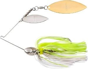 Booyah Vibra Wire 3-8 Willow Chart-Pearl White