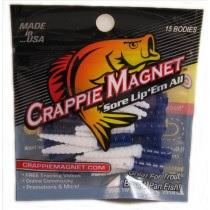 "Leland Crappie Magnet 1.5"" 15ct Blue-White"