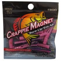 "Leland Crappie Magnet 1.5"" 15ct Purple Haze"