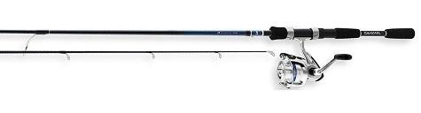 "Daiwa Combo D-Shock Spinning Combo 1BB 6'6"" 2pc M"