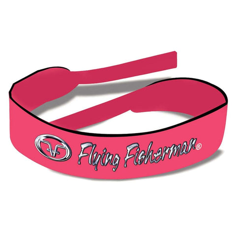 Flying Fisherman Retainer Strap  Pink Neoprene