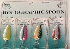 FJ Neil Holographic Spoons Assorted 3-8oz 12-cd