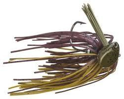 Buckeye Flat Top Finesse Jig 1-2oz Green Pumpkin