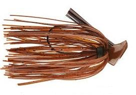 Buckeye Flat Top Finesse Jig 3-8oz Brown