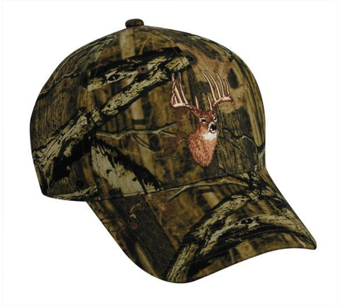 Outdoor Cap MOBU Infinity Embroidered Deer