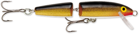 "Rapala Jointed Floater 3 1-2"" 1-4 Gold"