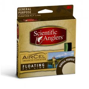 Scientific Anglers Air Cel Level Fly Line Green Size 6
