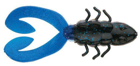 "Berkley Chigger Toad 4"" Black Blue"