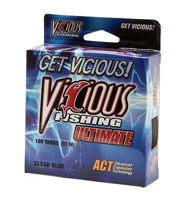 Vicious Ultimate Clear-Blue 100yd 4lb