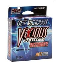 Vicious Ultimate Clear Mono 100yd 8lb